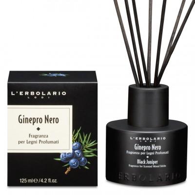 Miris za prostor s drvenim štapićima Ginepro Nero