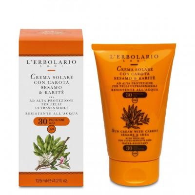 Krema za zaštitu od sunca za jako osjetljivu kožu SPF 30