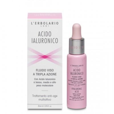 Fluid za lice s trostrukim djelovanjem Acido Ialuronico