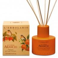Miris za prostor s drvenim štapićima Accordo Arancio