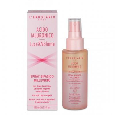 Dvofazni sprej s mnogobrojnim vrijednostima Acido Ialuronico Luce&Volume