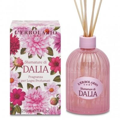 Miris za prostor s drvenim štapićima Sfumature di Dalia