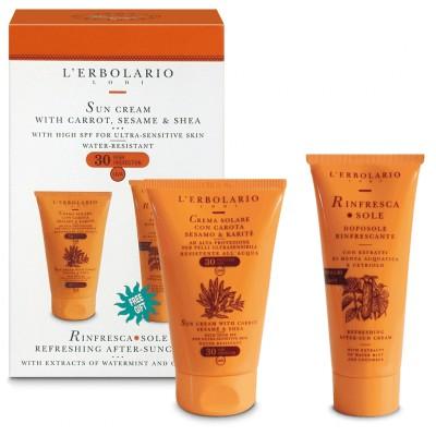 SUN SET: Krema za zaštitu od sunca za jako osjetljivu kožu SPF 30 i Rinfrescasole