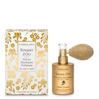 Svjetlucajući mirisni prah za kosu i tijelo Bouquet d'Oro - limitirano izdanje