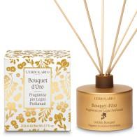 Miris za prostor s drvenim štapićima Bouquet d'Oro