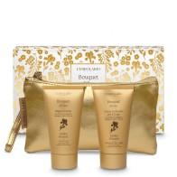 Mirisni pochette Bouquet d'Oro Beauty: Gel za tuširanje 75 ml i Fluidna krema za tijelo 75 ml - limitirano izdanje