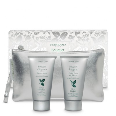 Mirisni pochette Bouquet d'Argento Beauty: Gel za tuširanje 75 ml i Fluidna krema za tijelo 75 ml - limitirano izdanje